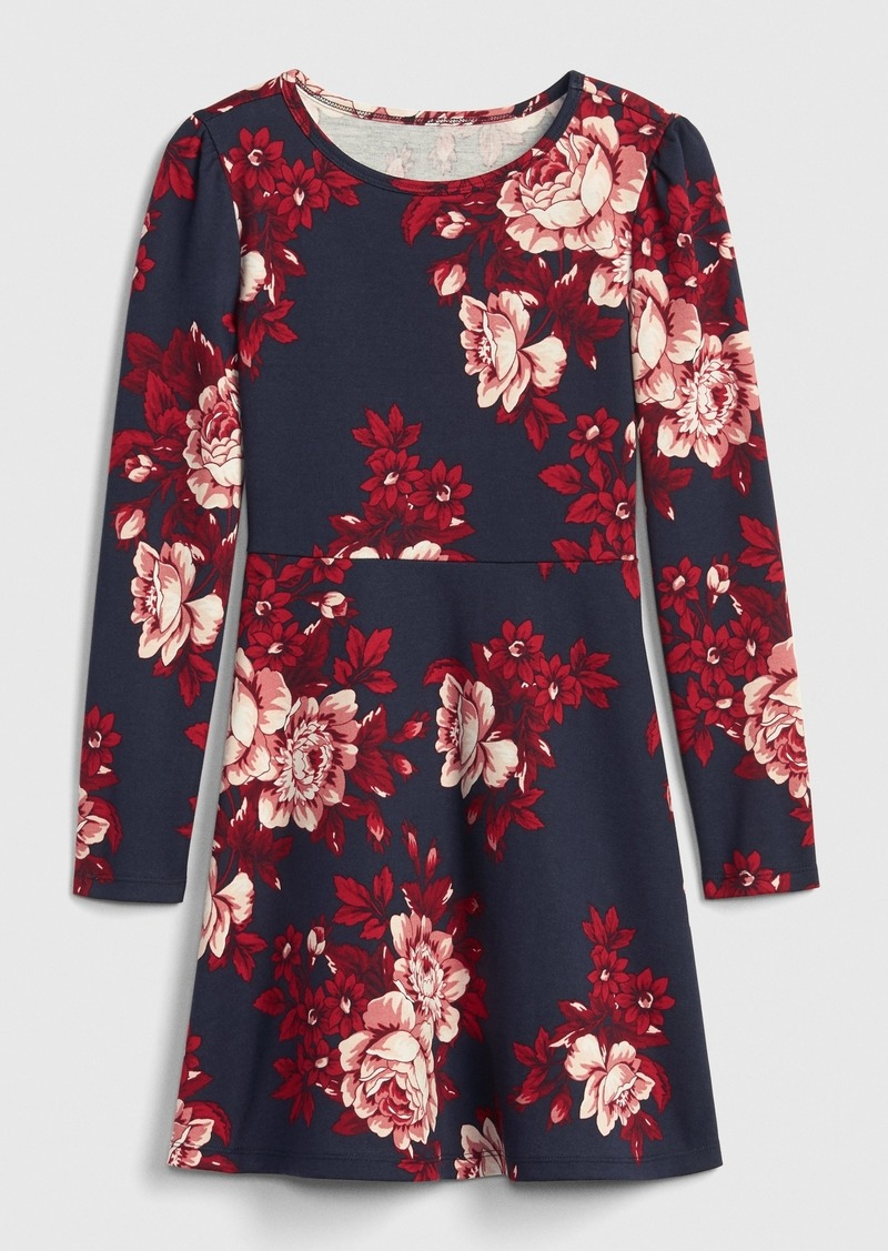Gap Kids Floral Ponte Dress