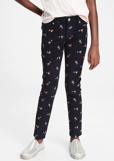 Gap Kids Floral Super Skinny Cords with Stretch