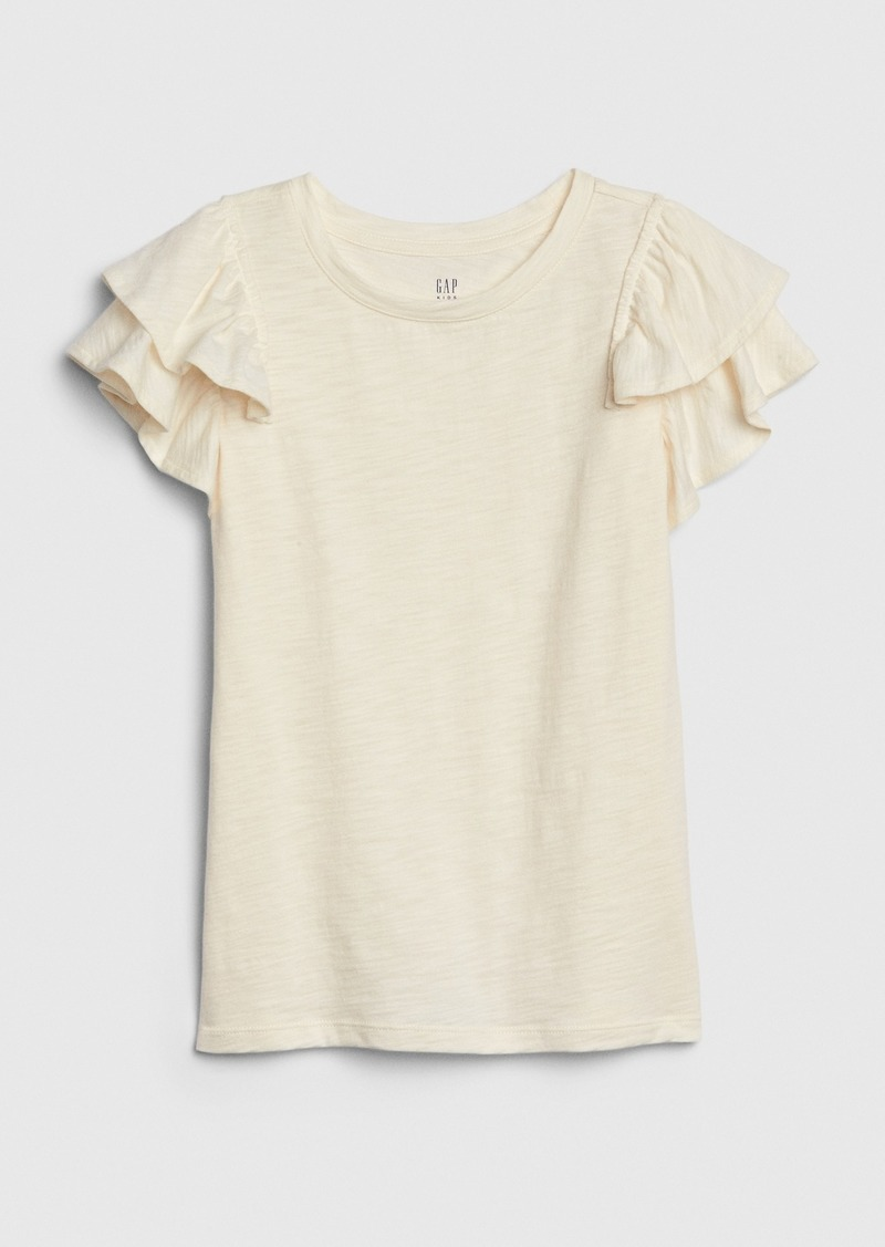 Gap Kids Flutter-Sleeve Top