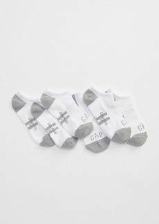 Kids Gap Logo Ankle Socks (3-Pack)