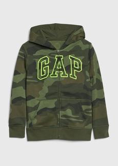 Kids Gap Logo Camo Hoodie Sweatshirt
