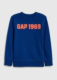 Kids Gap Logo Crewneck Sweatshirt