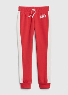 Kids Gap Logo Joggers in Fleece