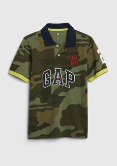 Kids Gap Logo Polo Shirt