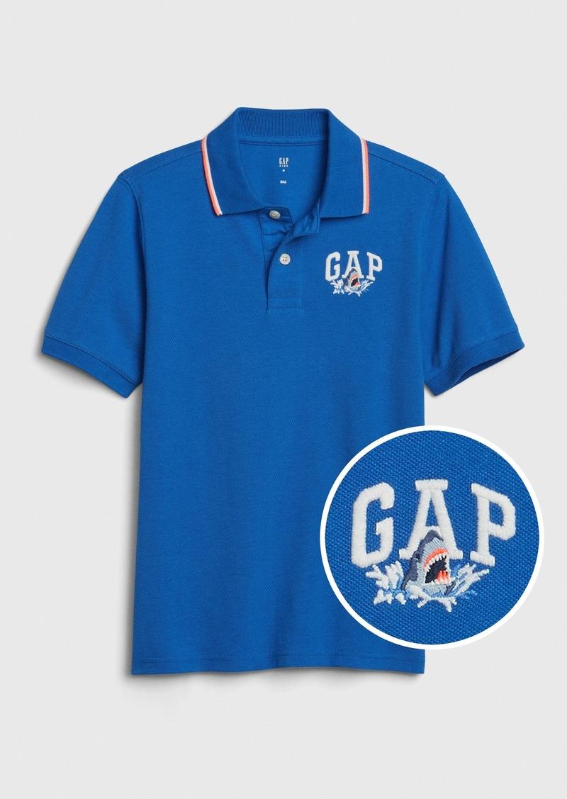 Kids Gap Logo Polo Shirt