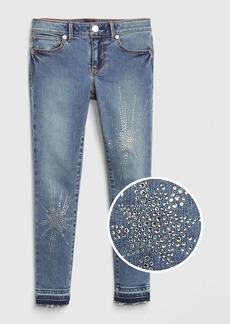 Gap Kids Gem Star Super Skinny Jeans with Fantastiflex