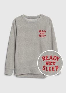 Gap Kids Graphic Fleece PJ Sweatshirt