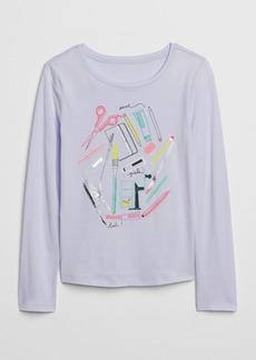 Gap Kids Graphic Long Sleeve T-Shirt