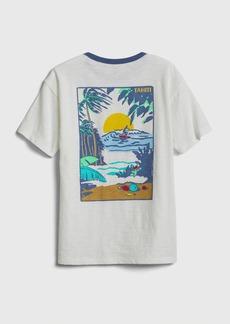 Gap Kids Graphic Pocket T-Shirt