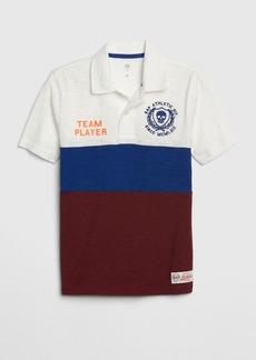 Gap Kids Graphic Polo Shirt