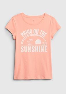 Gap Kids Graphic Short Sleeve T-Shirt