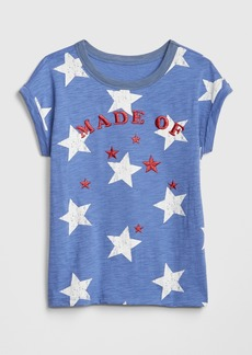 Gap Kids Graphic Short Sleeve T-Shirt