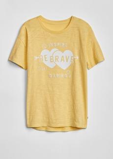 Gap Kids Graphic Short Sleeve Tunic