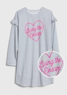 Gap Kids Graphic Stripe PJ Dress