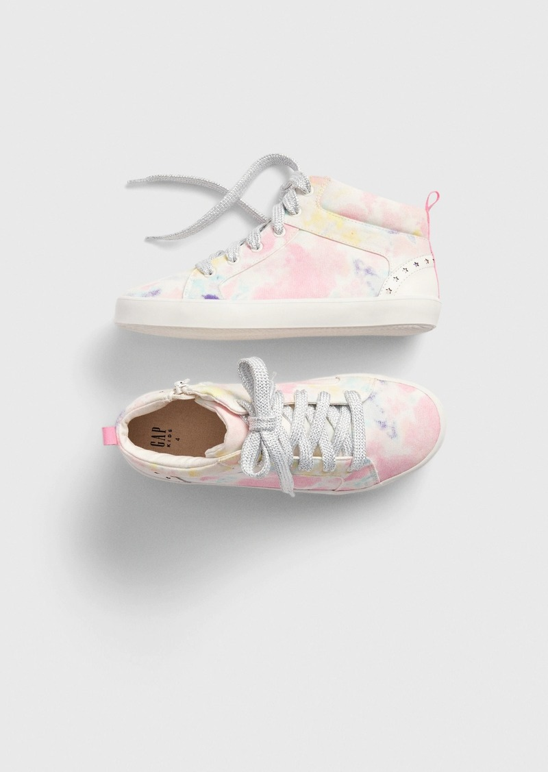 Gap Kids Hi-Top Tie-Dye Sneakers