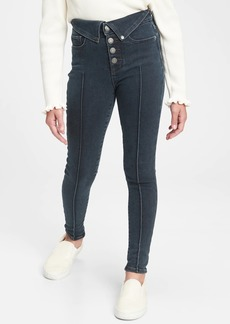 Gap Kids High Rise Collar Jeggings with Max Stretch