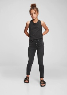 Gap Kids High-Rise Distressed Ankle Jeggings with Washwell&#153