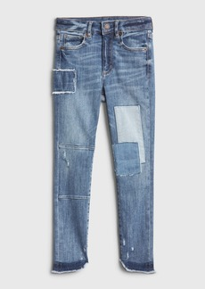 Gap Kids High Rise Patch Jeggings with Max Stretch