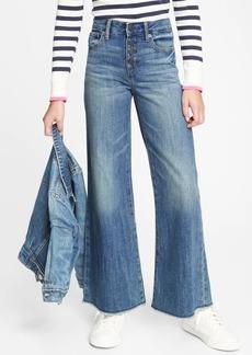 Gap Kids High Rise Wide-Leg Jeans