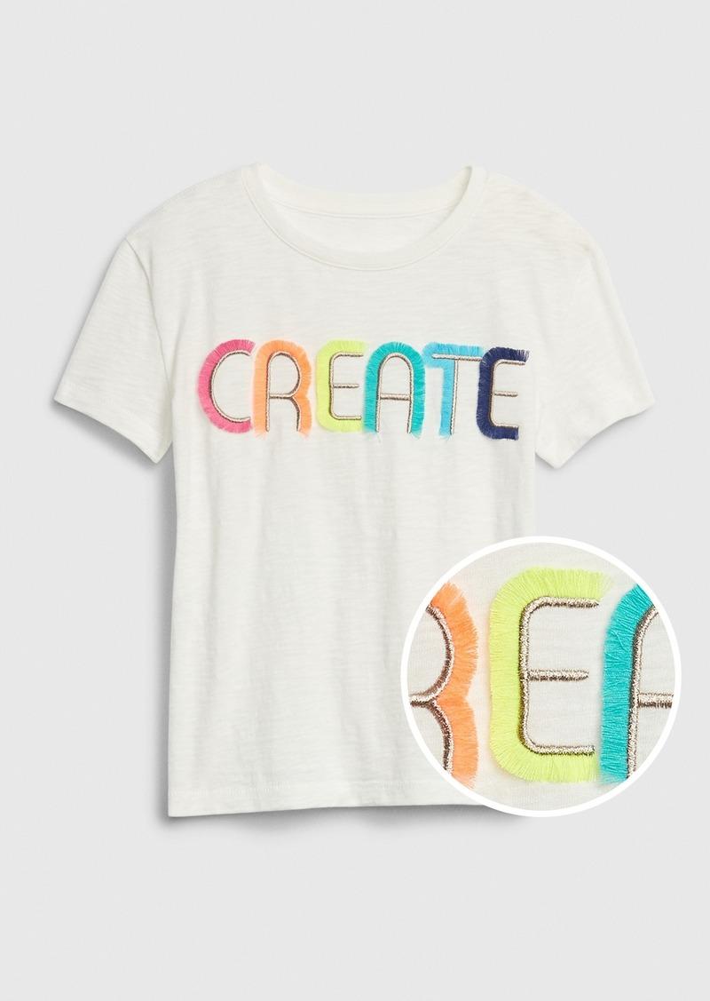 Gap Kids Interactive Short Sleeve T-Shirt