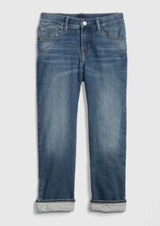 Gap Kids Jersey-Lined Original Jeans