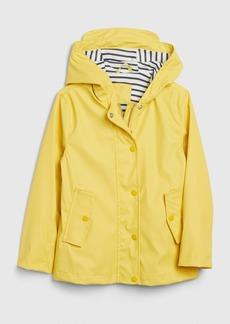 Gap Kids Jersey-Lined Raincoat