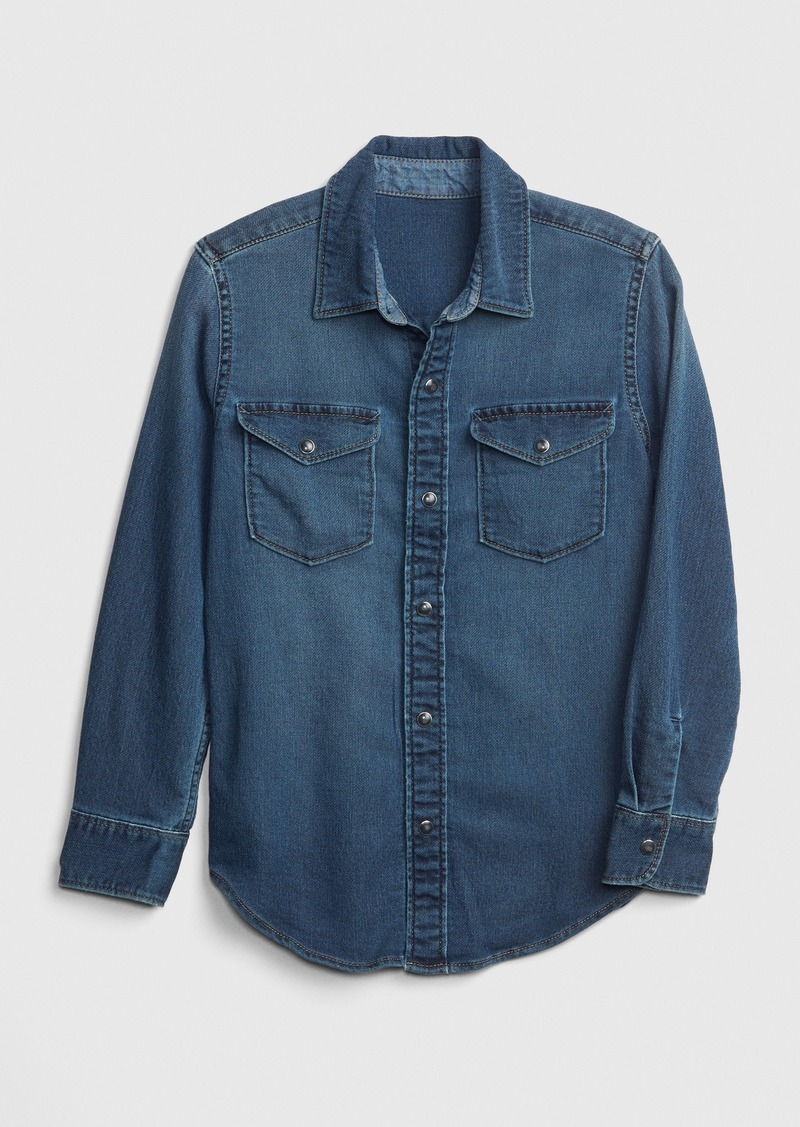 Gap Kids Knit-Like Shirt