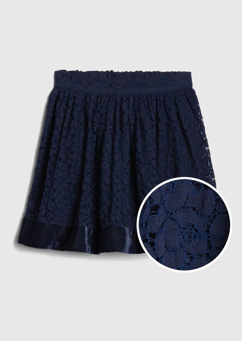Gap Kids Lace Flippy Skirt