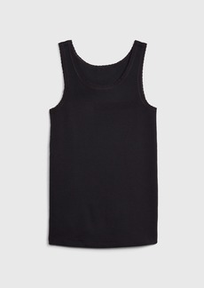 Gap Kids Lace Trim Tank Top