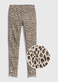 Gap Kids Leopard Ankle Jeggings with Fantastiflex
