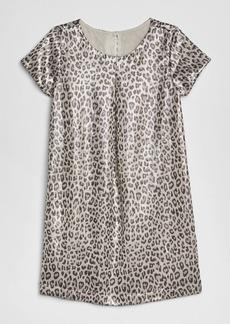 Gap Kids Leopard Jacquard Dress