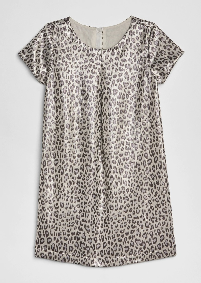 Gap Kids Leopard Jacquard Dress