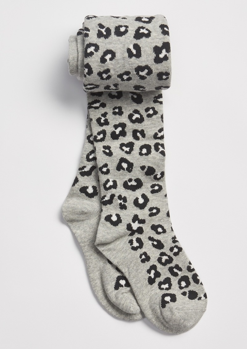 Gap Kids Leopard Print Tights