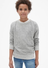 Gap Kids Marled Crewneck Sweatshirt