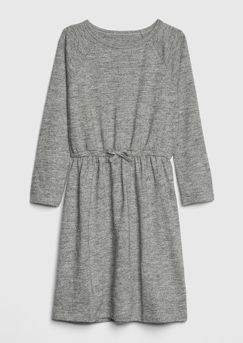 Gap Kids Marled Long Sleeve Dress