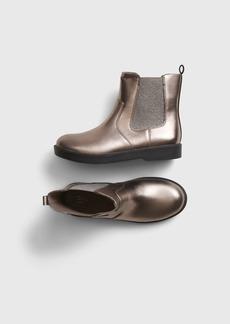 Gap Kids Metallic Ankle Boots