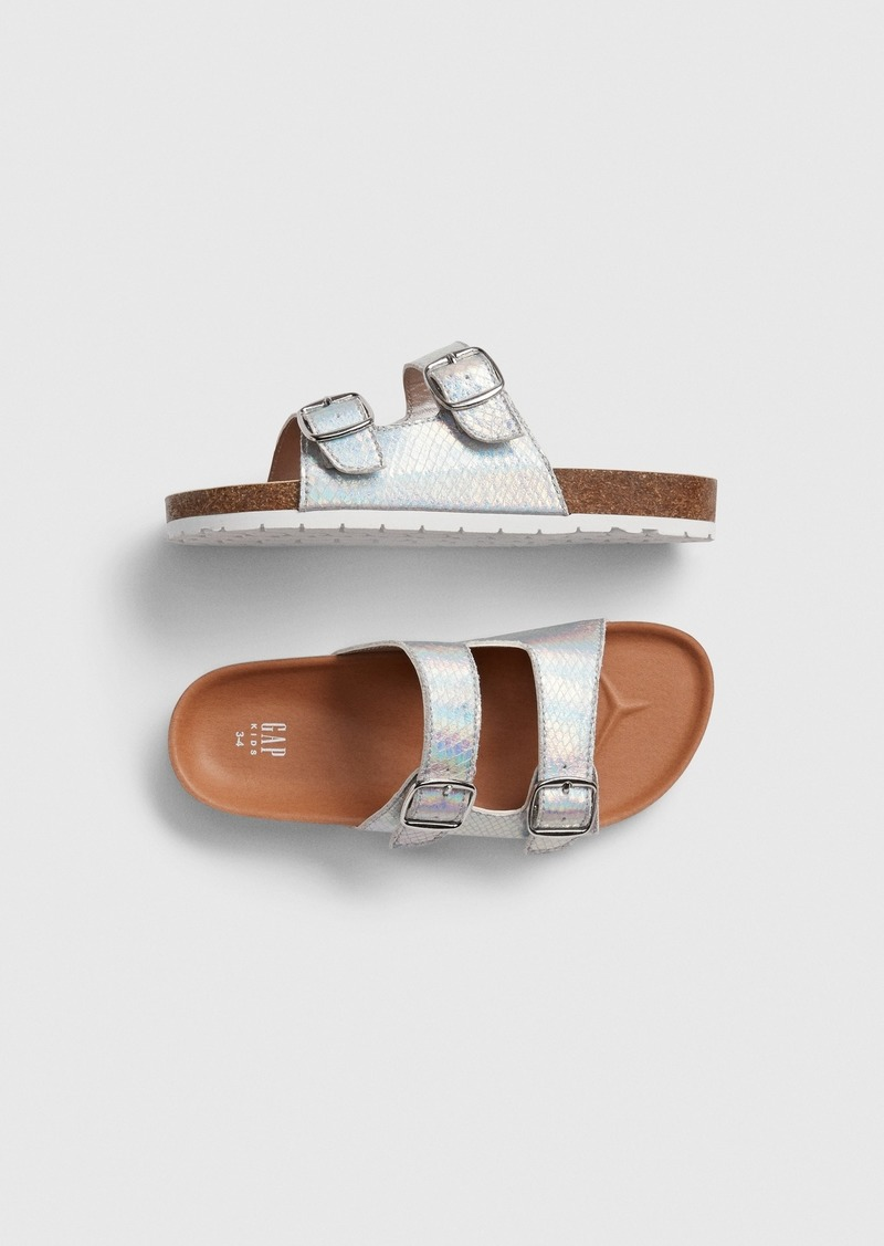 Gap Kids Metallic Cork Sandals