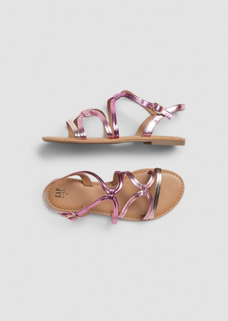 Gap Kids Metallic Sandals