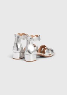 Gap Kids Metallic Scalloped Block Heels