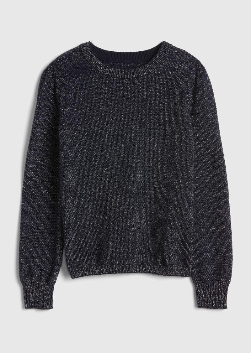 Gap Kids Metallic-Thread Sweater