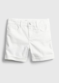 Kids Denim Midi Shorts with Gap Shield