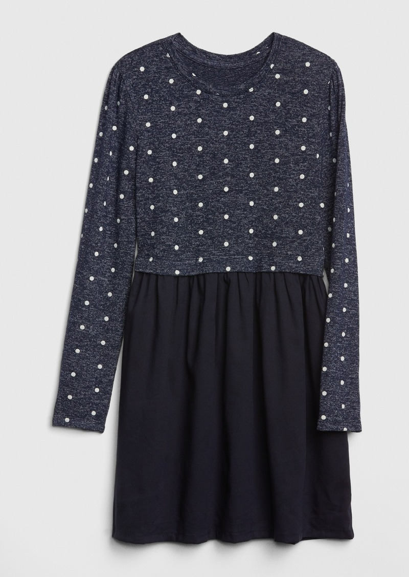 Gap Kids Mix-Media Dress