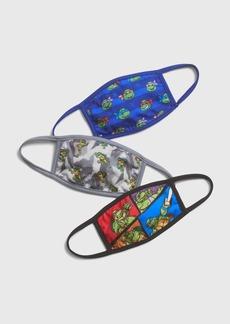 Gap Kids Ninja Turtles Face Mask (3-Pack)