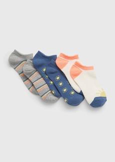 Gap Kids No-Show Sunny Socks (3-Pack)