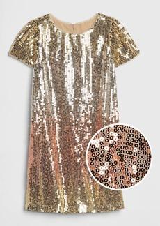 Gap Kids Ombre Sequin Dress