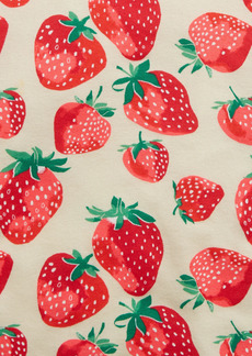 Gap Kids 100% Organic Cotton Strawberry Graphic PJ Set