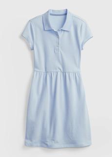 Gap Kids Organic Cotton Uniform Polo Dress