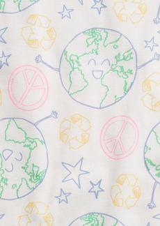 Gap Kids 100% Organic Cotton Earth PJ Set