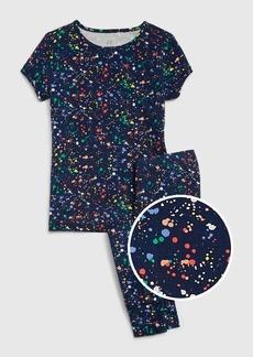 Gap Kids Paint Splatter PJ Set