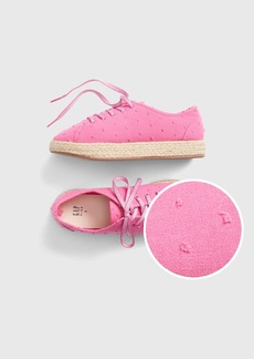 Gap Kids Pink Espadrille Sneakers